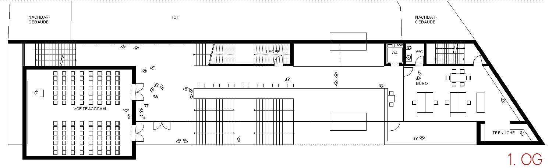 Museum Foyer Grundriss : Besucherzentrum mainz grundriss og